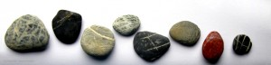 One Life Counselling & Psychotherapy - rocks footer
